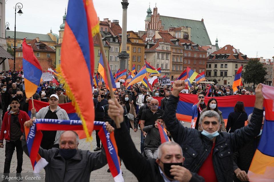Demonstracje związane z wojną w Artsakh w 2020 roku