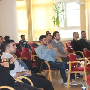 Spotkanie z młodzieżą ormiańską w Warszawie
