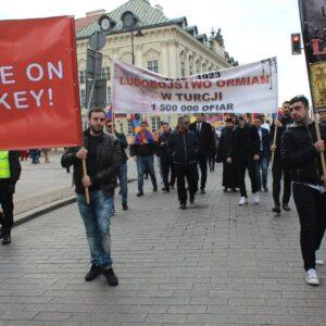 Հայոց Ցեղասպանության 100 ամյա տարերիցին նվիրված միջոցառումներ Վարշավայում