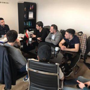 Հանդիպում Վարշավայի հայ երիտասարդների հետ 2019
