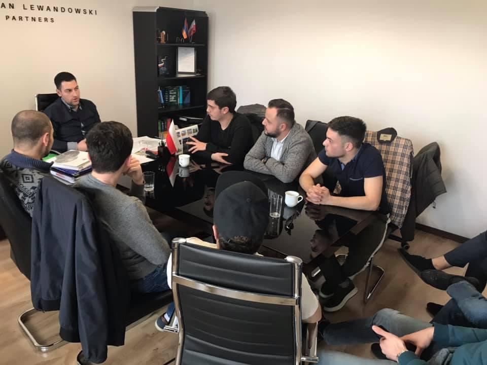 Spotkanie z młodzieżą ormiańską w Warszawie 2019